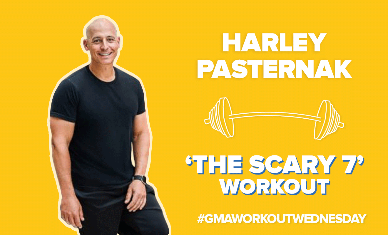 GMA' Live-Streams Full Body Workout With Trainer Harley