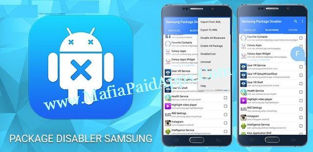 BK Package Disabler Samsung v2 0 9 Apk Only for Samsung