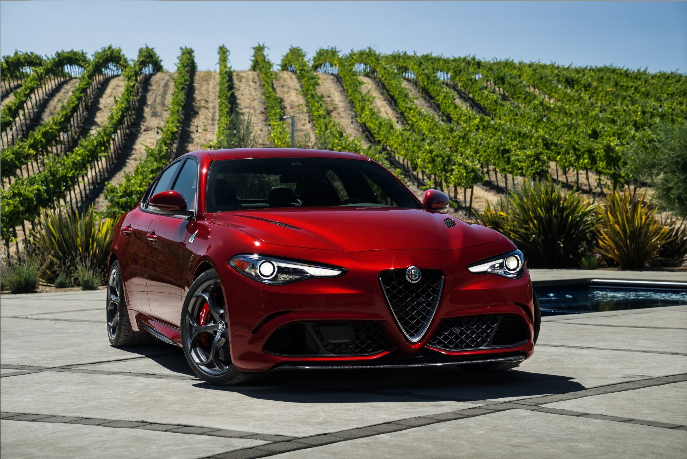 2017 Alfa Romeo Giulia Quadrifoglio Alfa Romeo Giulia Quadrifoglio Alfa Romeo Giulia Alfa Romeo