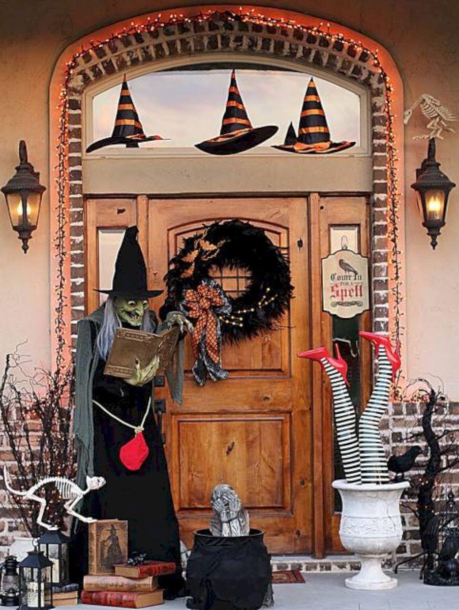 42 Halloween Front Porch Decor Ideas Front porches, Porch and - halloween house decoration ideas