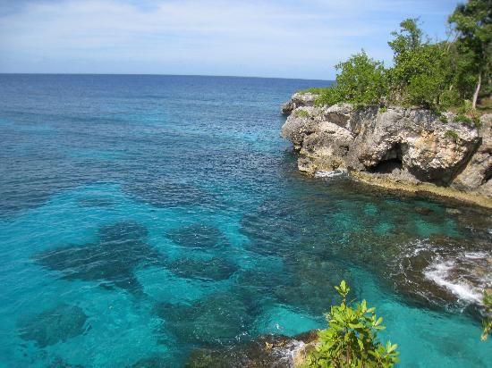 Catcha Falling Star: Jamaican coastline near Catcha