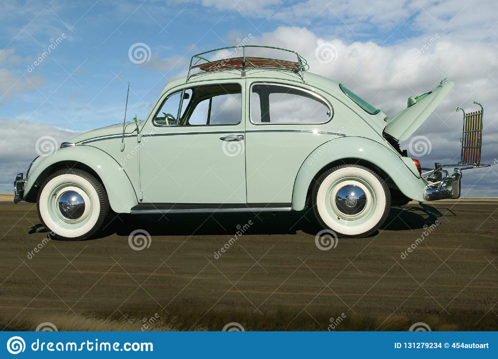 Pin By Leslee Mitchell Photography On Transportation Volkswagen Beetle Volkswagen Blue Sky Clouds