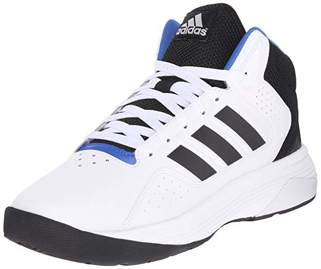 394886609e0 adidas Performance Men s Cloudfoam Ilation Mid Basketball Shoe  Leather Fabric Rubber sole Shaft measures approximately mid-top from arch  High-top basketball ...
