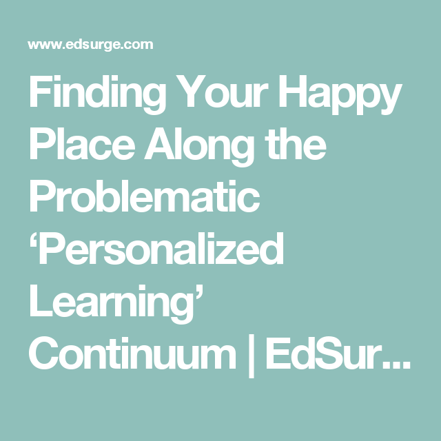 Circa News Learn Think Do: Finding Your Happy Place Along The Problematic