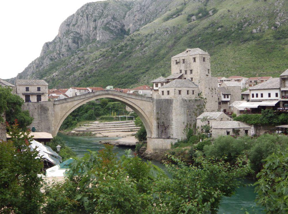 Mostar - the old bridge 'Stari Most'