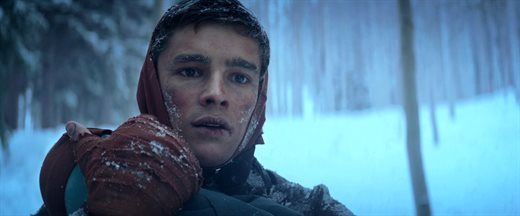 Jonas Fighting Through Discomfort Hunger And The Cold All While