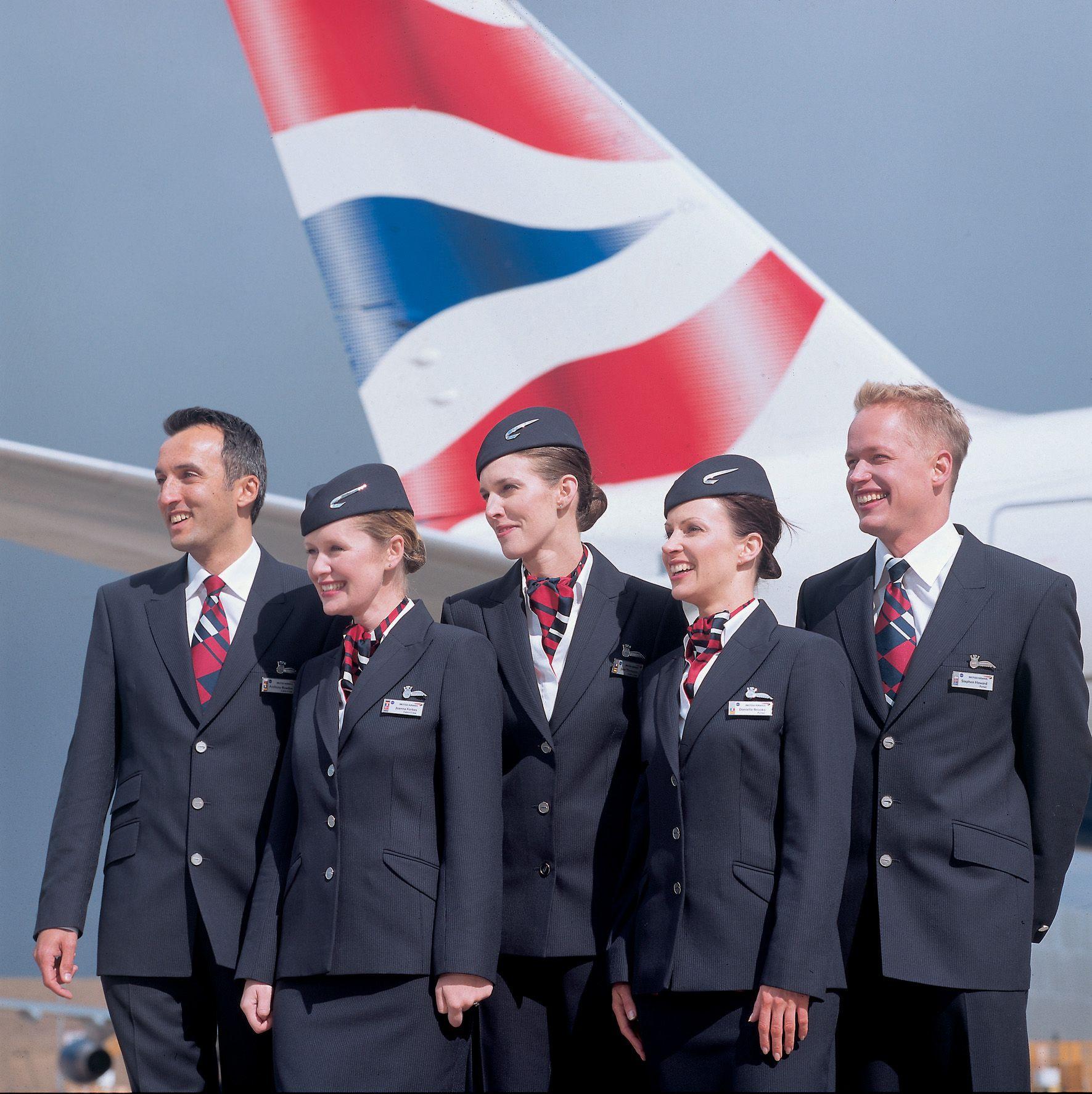 British Airways cabin crew | Auxiliar de vuelo, Azafata