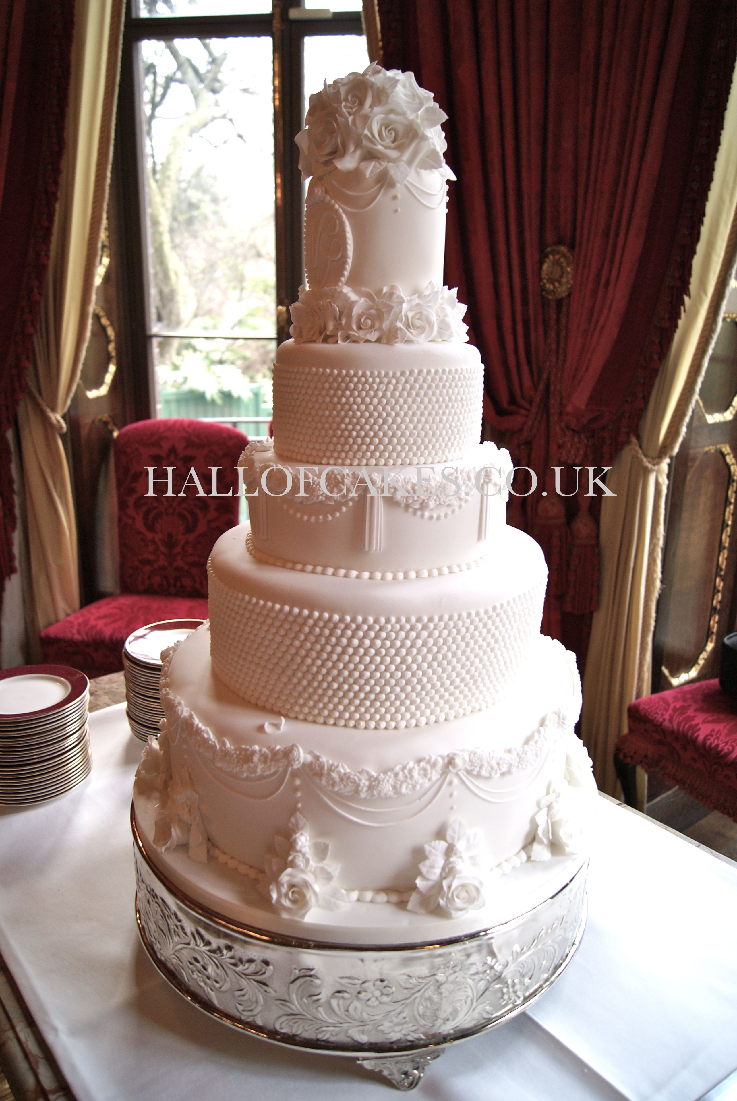 Victorian wedding cakes by hall of cakes pastel de boda