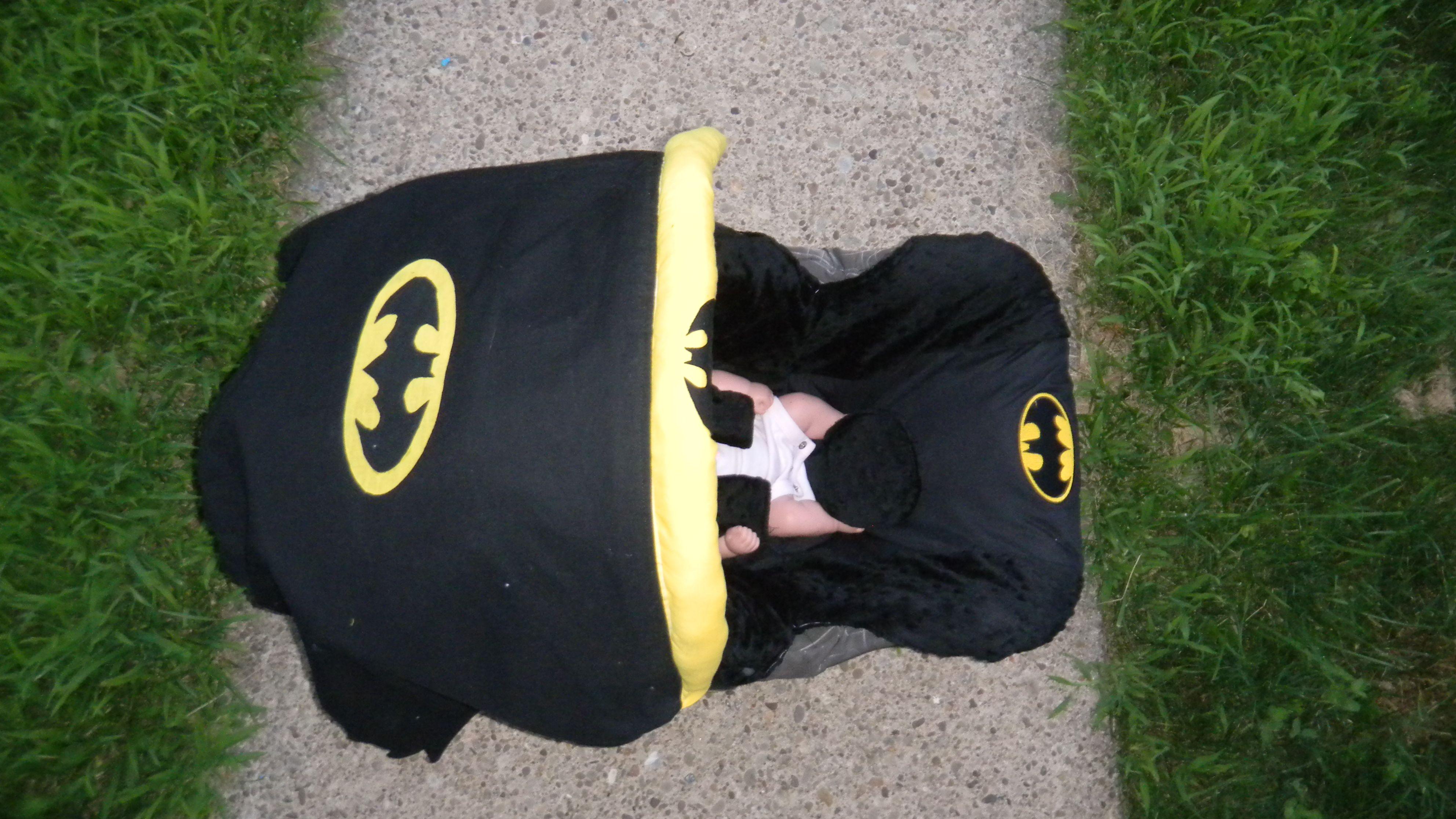 Batman top view Carseat cover, Batman, Herschel heritage