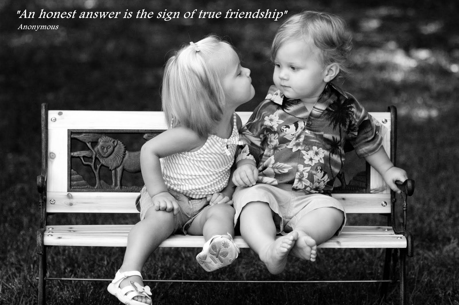 Cute Kids with Funny Short Friendship Quotes and Sayings for Kids Bedroom Wall Stickers Murals Ideas