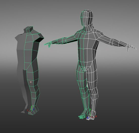 Character Design Tutorial In 3d Max : Image result for low poly character modeling tutorial d