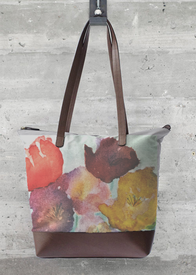 VIDA Tote Bag - Abstract strokes by VIDA 25gRkfYxq