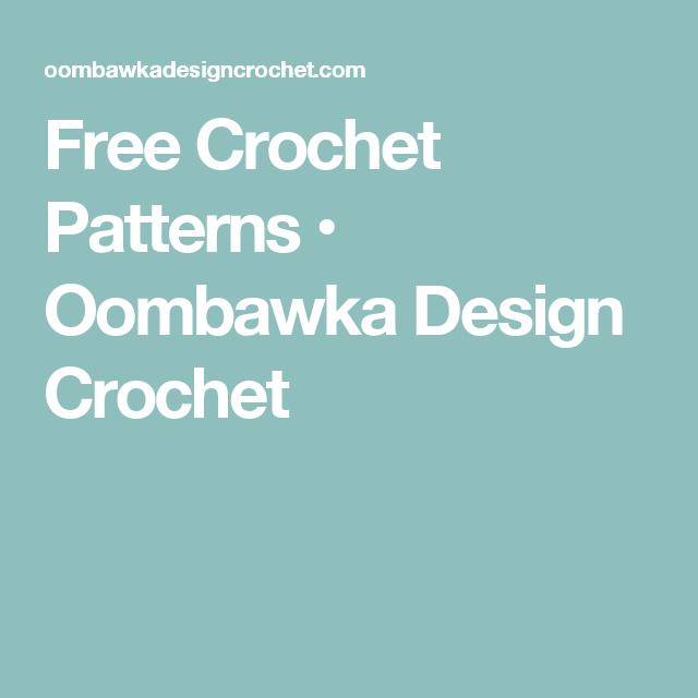 Free Crochet Patterns Oombawka Design Crochet Crochet Sites