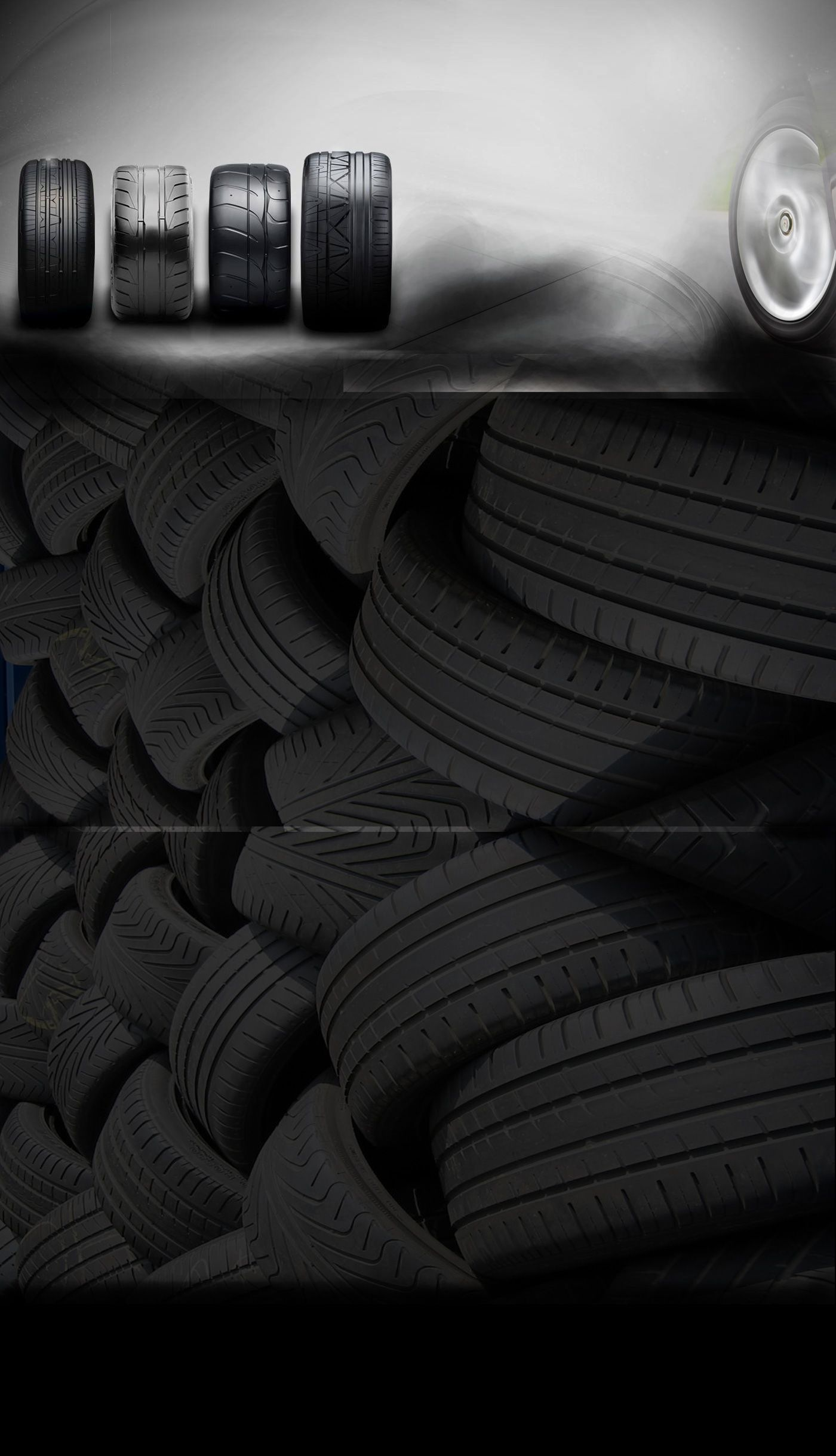 Part Worn Tyres Are The Used Tyres But They Have A Good Thickness Of