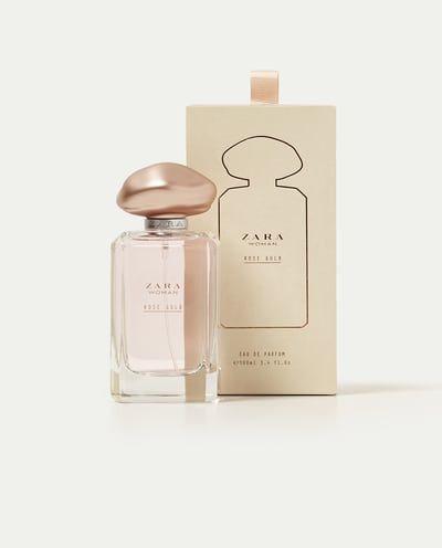 Woman 100 Gold Eau Rose De Toilette Ml Zara Fragrances Accessories AR4j5L