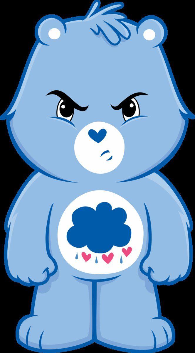 Grumpy Bear Vector Care Bear Tattoos Care Bear Party Grumpy Care Bear