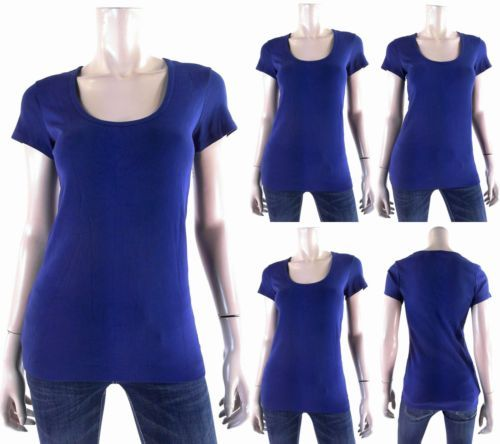 Tommy Bahama Womens size S Cap Sleeve Scoop Neck Basic T-Shirt Tee Solid CHOP