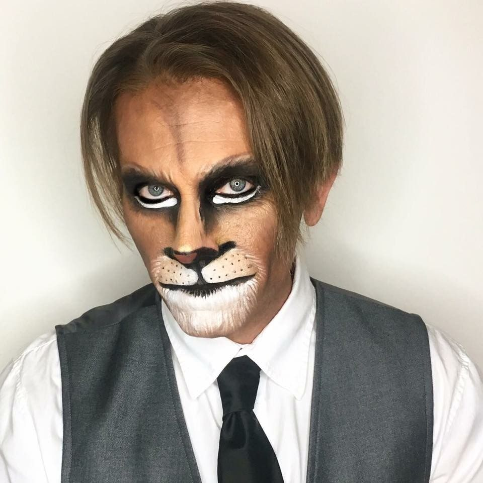 Lion Makeup Halloween Makeup Ideas Lion Makeup Animal Makeup Halloween Makeup Diy