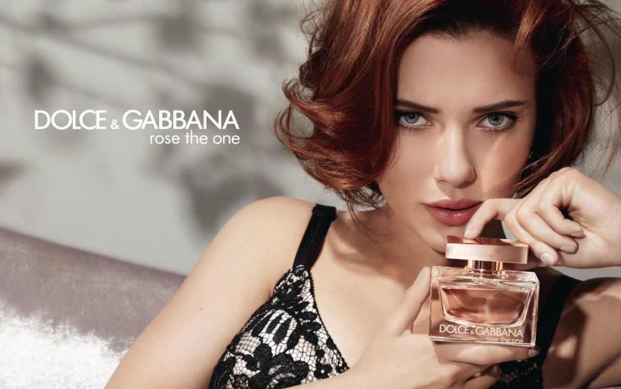 dolce amp gabbana the one with scarlett johansson commercial