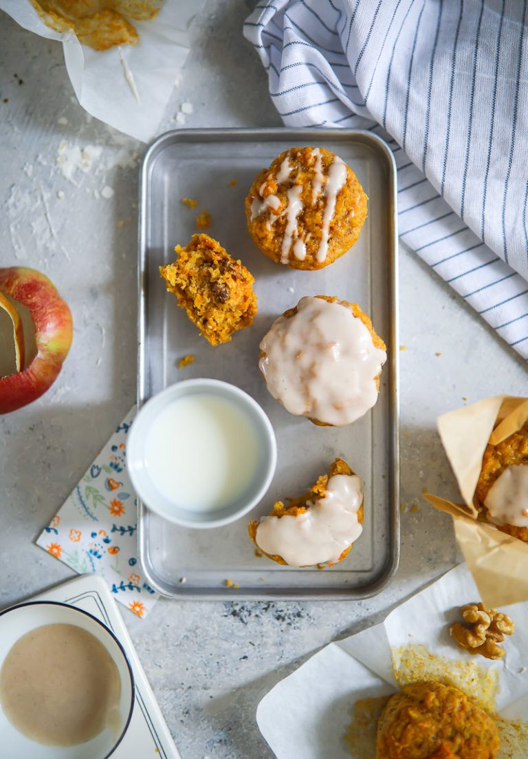 Apfel Möhren Muffins Rezept