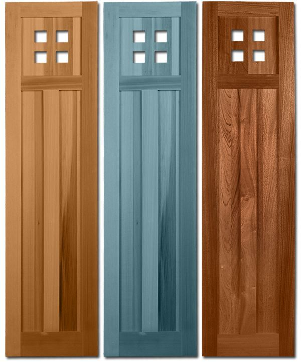 Timberlane Exterior Shutters   The Mission Style Shutters Combine A Modern,  Yet Classic Aesthetic With Idea