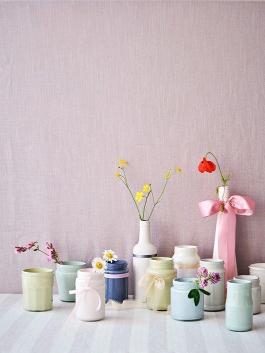 Déco intérieur pastel pastel poudré dans la maison cocon de décoration le blog
