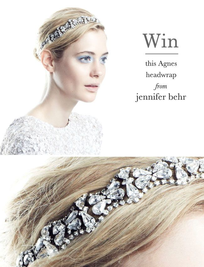 Win a gorgeous headwrap from Jennifer Behr!