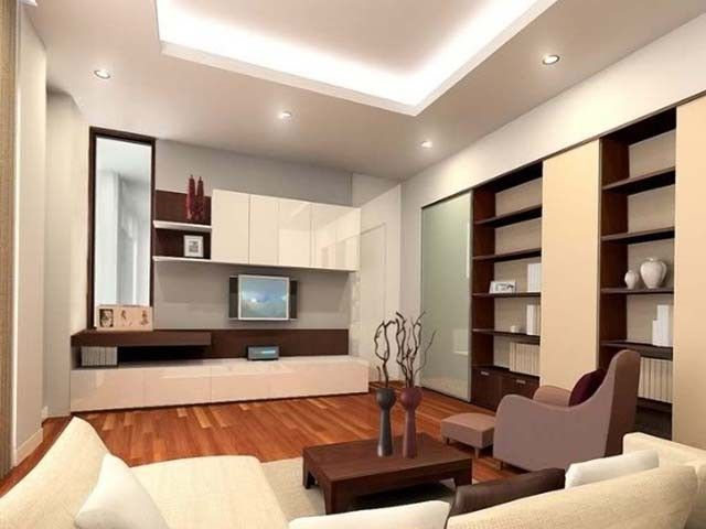 How To Make A Living Room Look Larger Salones Pequenos Sala De Estar Minimalista Diseno De Techo Moderno