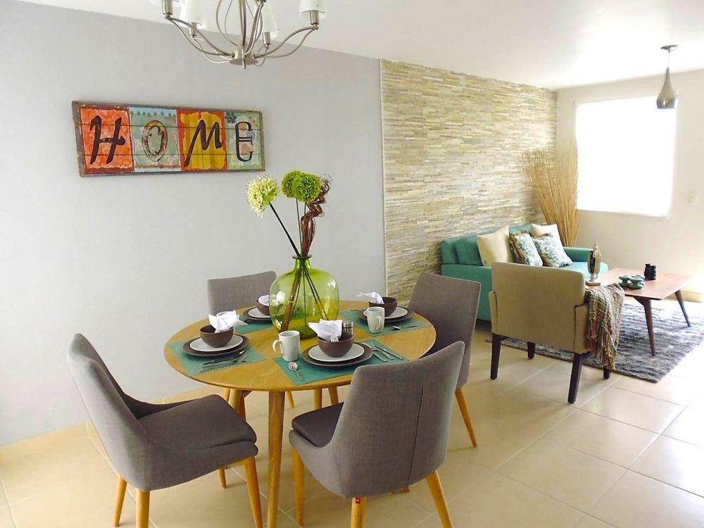 Exterior decoraci n de casas infonavit salas y comedor for Decoracion cocinas comedor pequenas