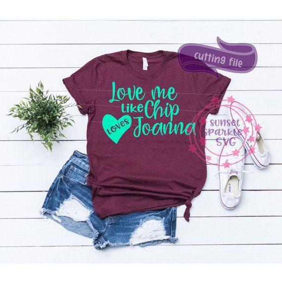 Download Love Me like CHIP loves JO SVG, wife shirt svg dxf png ...