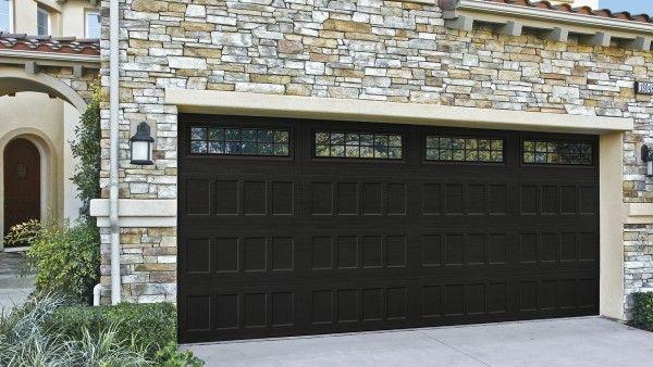 Oak Summit Banko Overhead Doors Double Garage Door Garage Door Design Black Garage Doors