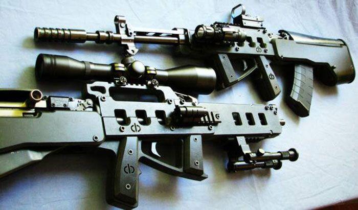 SKS in CBRPS bullpup stock | SKS | Guns, Weapons, Cool guns