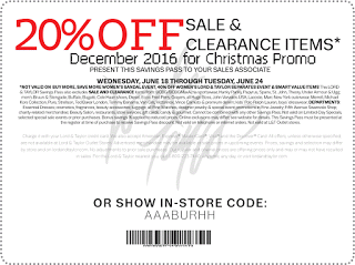 photo regarding Lord and Taylor Printable Coupon known as Lord Taylor coupon codes december totally free printable discount coupons