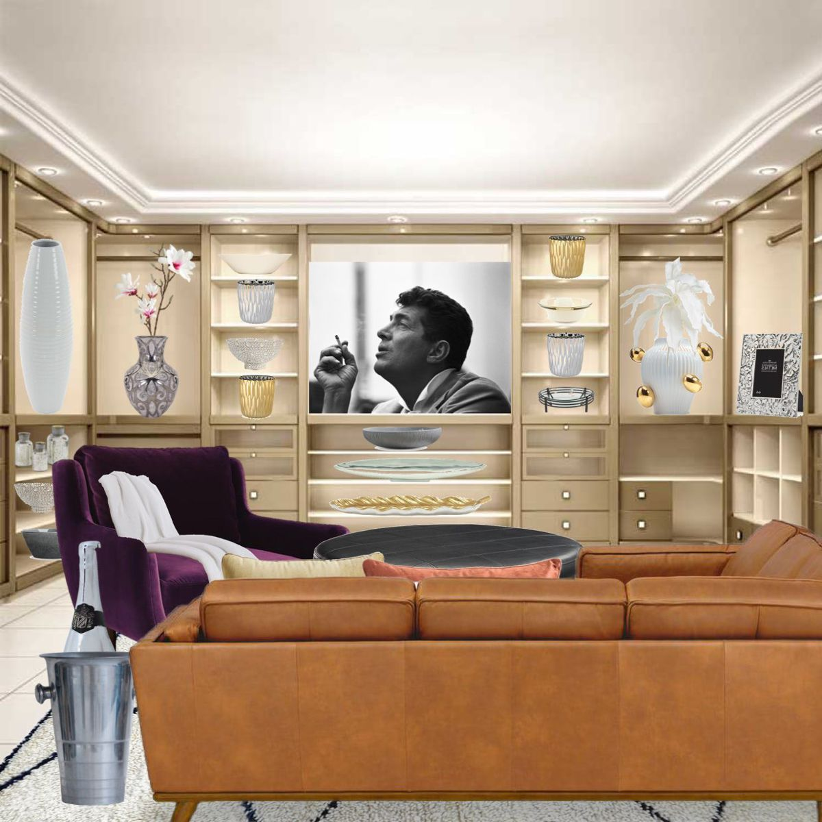 Luxury Basement Designs: If You Happen To Have An Basement In Your Region Gift