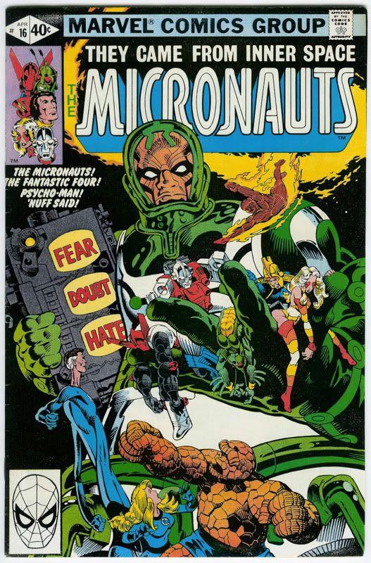 Micronauts 16
