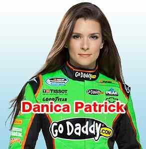 One of my favorite Nascar drivers, Danica Patrick.