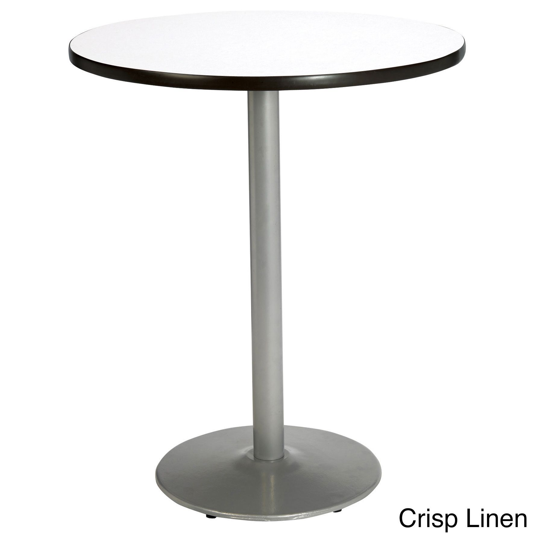 Inch Round Bar Height Pedestal Table Round Silver Base - 42 inch round office table