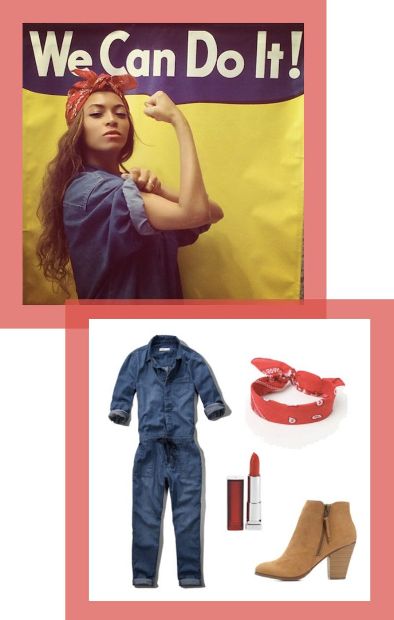 15 Simple Last,Minute Halloween Costumes You Can Put