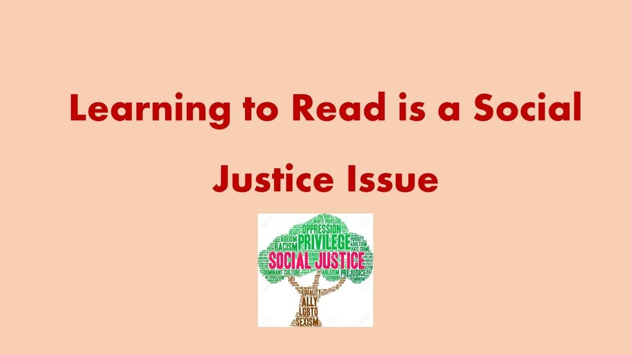 Social Justice Learning To Read Learn To Read Social Justice Reading Instruction