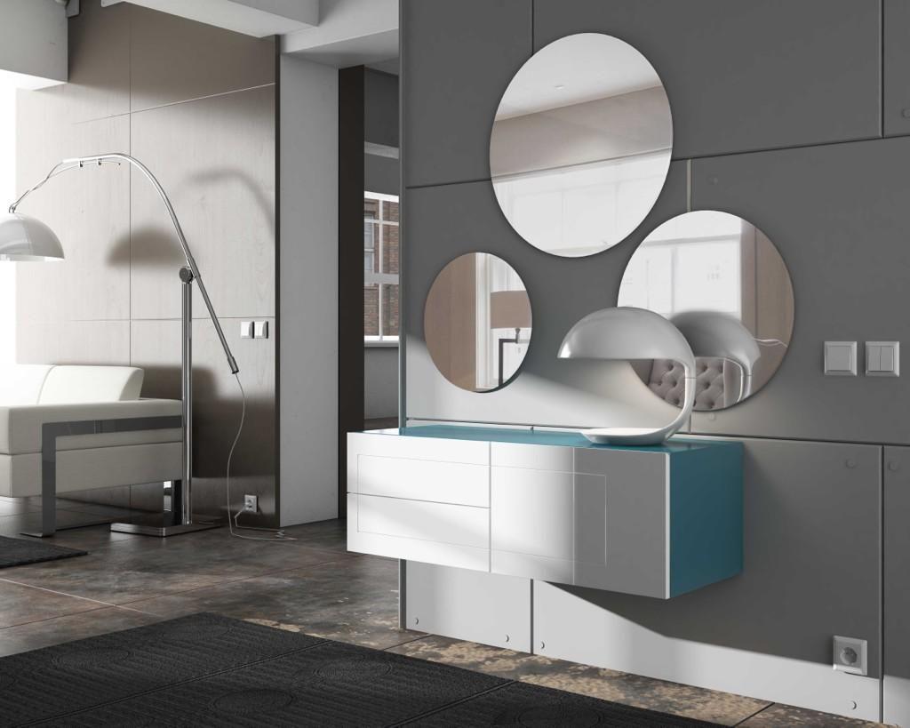 Twitter muebles interioristas decoradores espejos for Espejo redondo recibidor