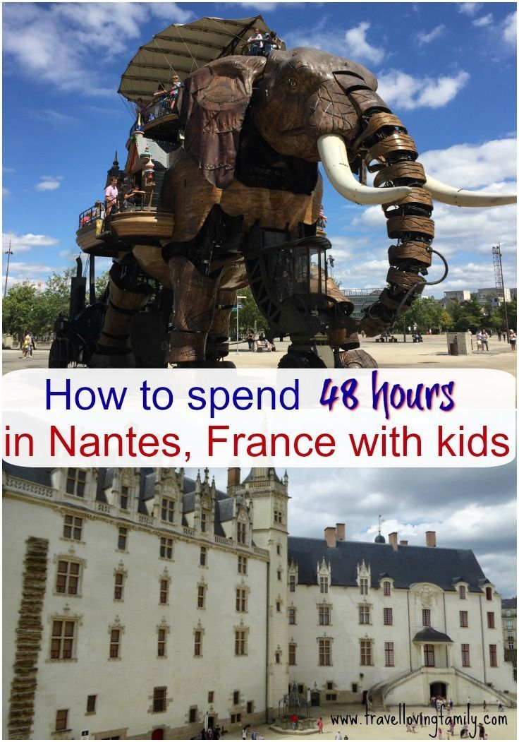 A weekend in Nantes with kids is part of A Weekend In Nantes With Kids Visit Brittany France - What to do in Nantes with kids  There is so much to do in the historical city inc  Machines de l'île, Castle of the Dukes of Brittany, Trentemoult