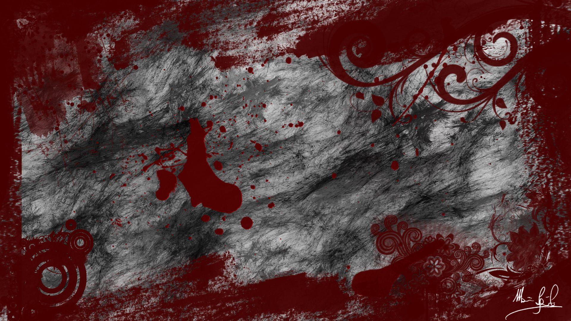 Обои На Рабочий Стол Кровь