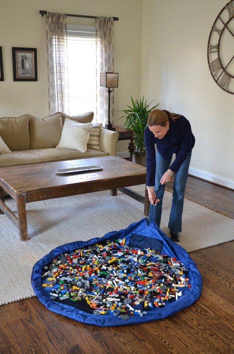 20 Creative Organization Ideas For Kids Playroom Living Room