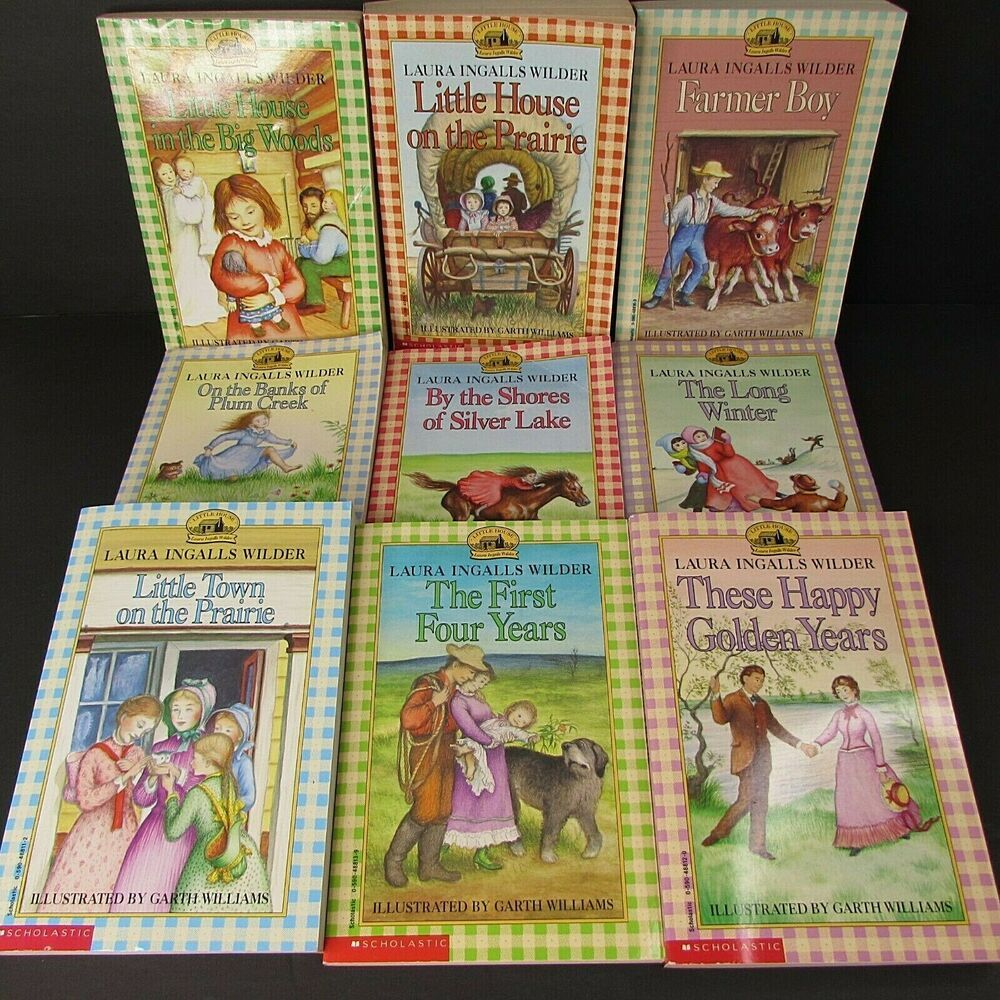 Details About Little House On The Prairie Lot 9 Complete Series