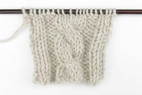 Cómo Tejer Cuerdas a Dos Agujas. Aprende a tejer Cuerdas a dos agujas con este tutorial. Blog para Aprender a Tejer Paca La Alpaca