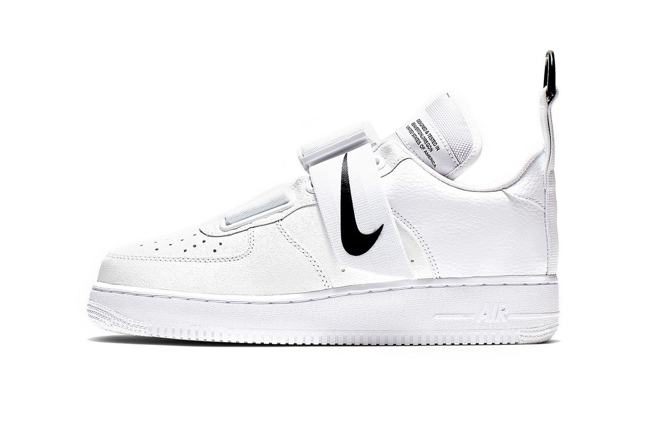 nike air force 1 utility femme blanche