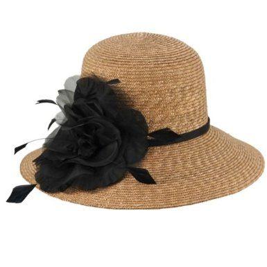 6473957753f35 Amazon.com: Plaza Suite Odette Hat Taupe/Black/1-Size: Clothing ...