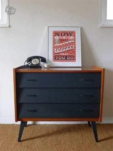 Pin by Jeanne K on Relooking meuble -☆- Pinterest Painted tiles - relooker un meuble en pin