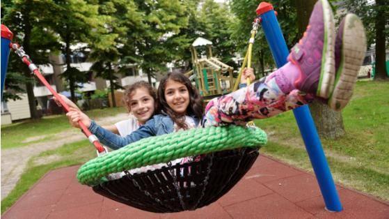 Neuer Spielplatz eröffnet |Wilde Welt im Wollepark