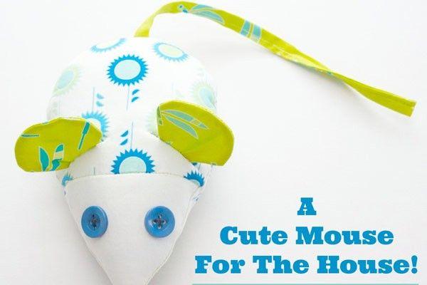 Patron gratuit : une souris mignonne comme tout